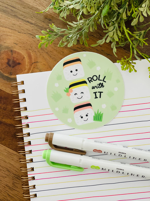 Sticker: Roll With It