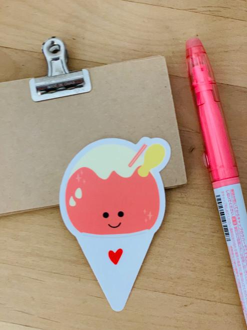 Sticker: Shave Ice Pink