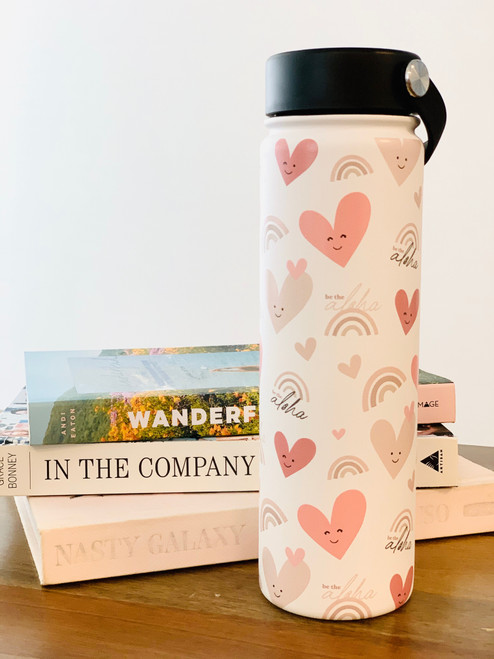 21 oz Water Bottle: Be The Aloha