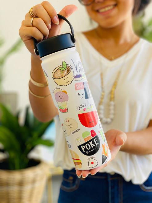 21 oz Water Bottle: Global Grinds