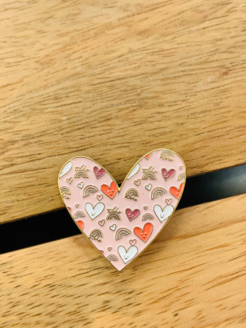 Enamel Pin: Be The Aloha Heart Filled