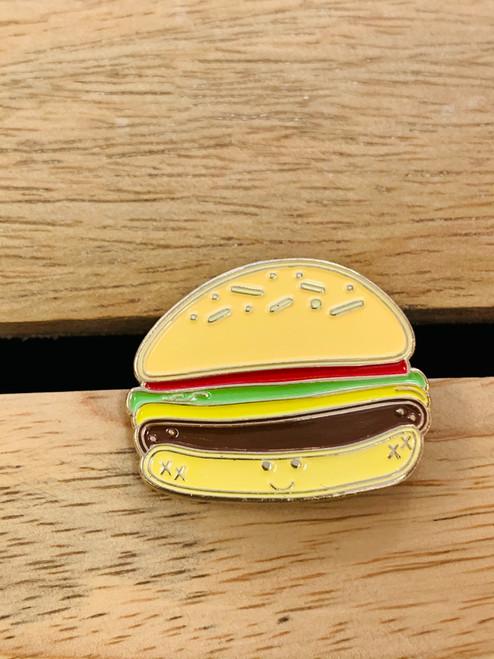 Enamel Pin: Cheeseburger