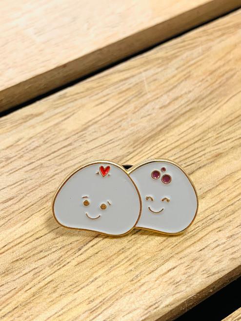 Enamel Pin: Dumpling Duo