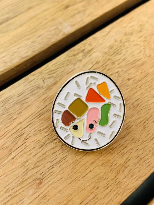 Enamel Pin: Kimbap