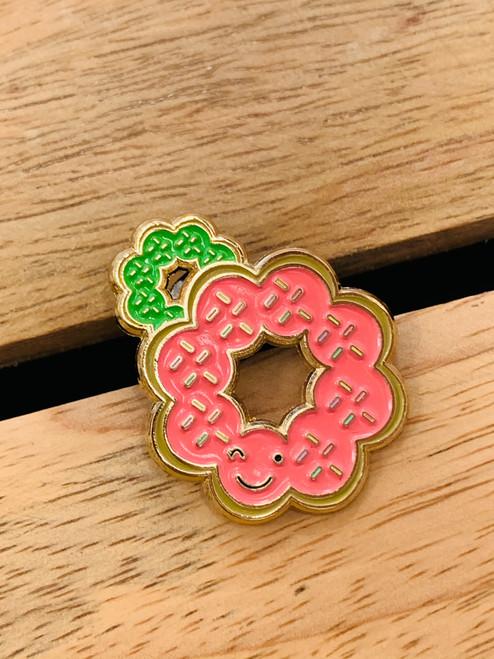 Enamel Pin: Mochi Donuts