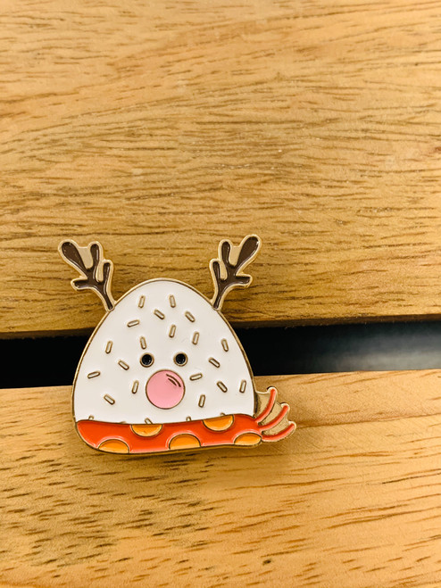 Enamel Pin: Musubi Reindeer
