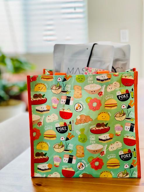 Mini Crinkle Bag: Global Grinds