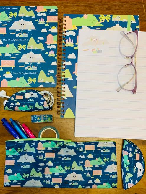 Spiral Notebook: Mahalo From Hawaii