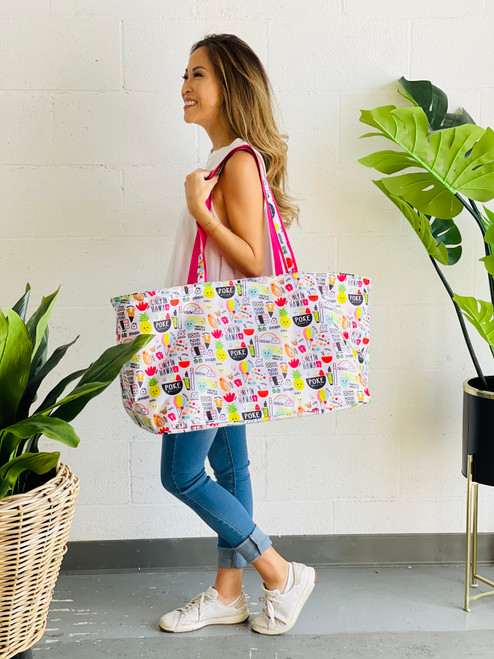 Large Ultimate Tote: Heart of Eden Icons