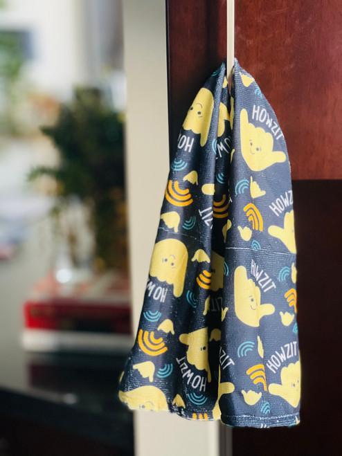 Kitchen Towel: Howzit Shaka