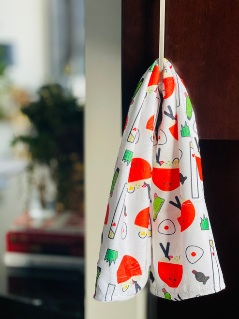 Kitchen Towel: Ramen Grinds