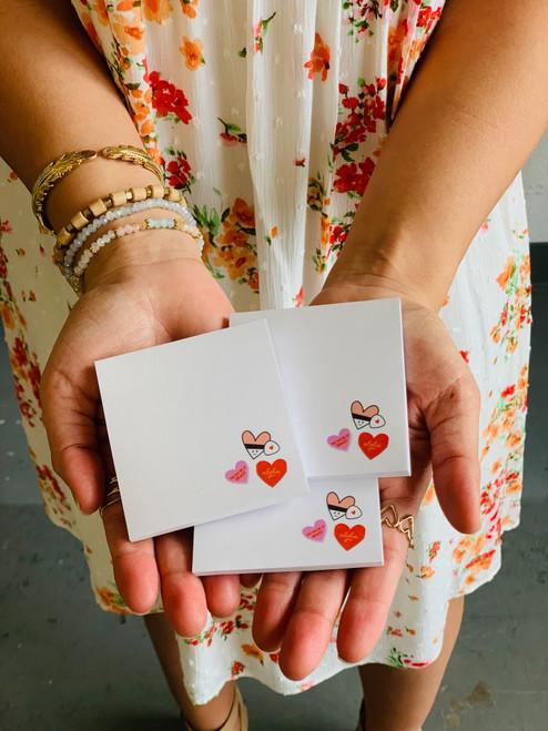 Post It Pad (50 Sheets): Aloha Conversation Hearts