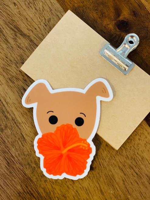 Sticker: Hiya-Biscus