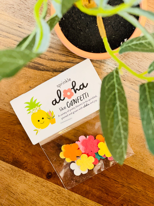 Flower Confetti Seeds: Bloom Queen