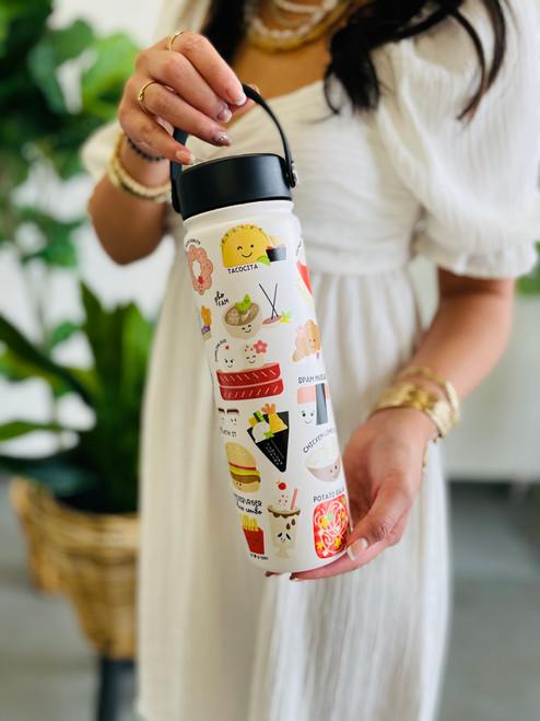 Water Bottle (21 oz): Foodie Foodie