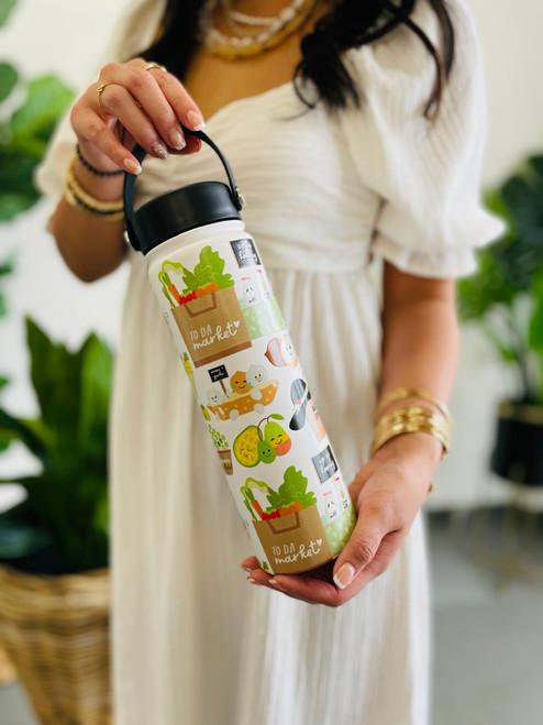 Water Bottle (21 oz): To Da Market
