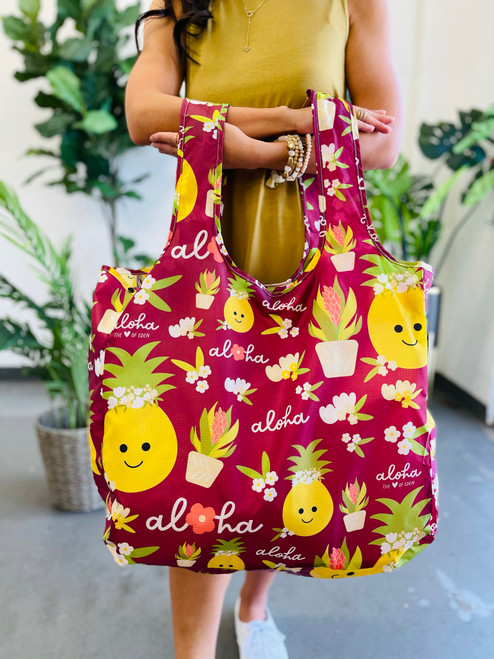 Large Tote: Bloom Queen