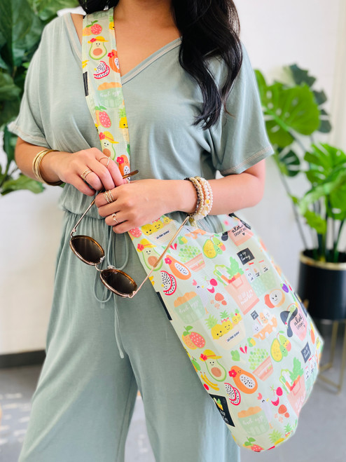 Crossbody Bag: To Da Market