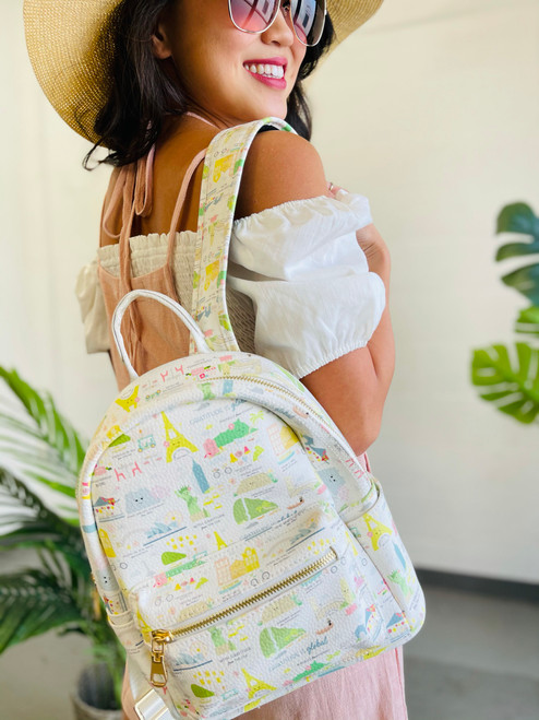 Mini Backpack: Gratitude is Global