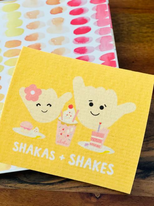 Swedish Dishcloth: Shakas and Shakes