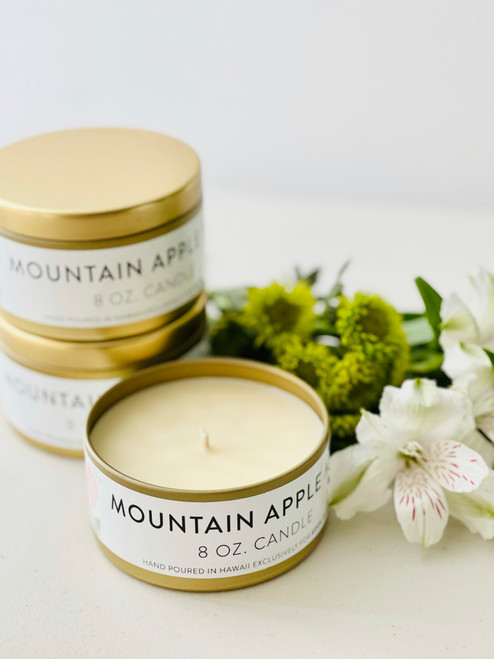 Jules and Gem 8 Oz Candle: Mountain Apple Mint