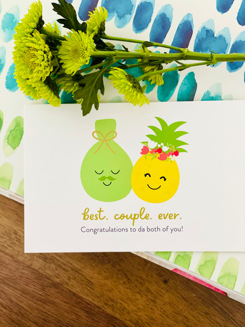 Greeting Card: Best. Couple. Ever. - Congrats