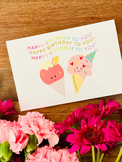 Greeting Card: Happy Birthday To You