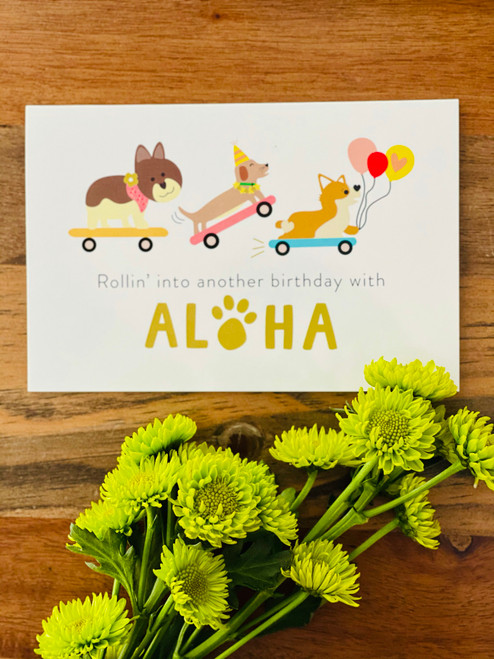 Greeting Card: Rollin' Into Another Birthday