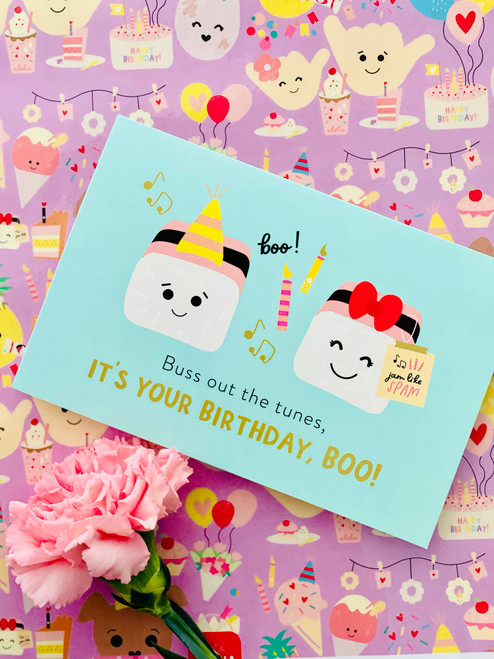 Greeting Card: It's Your Birthday, Boo!