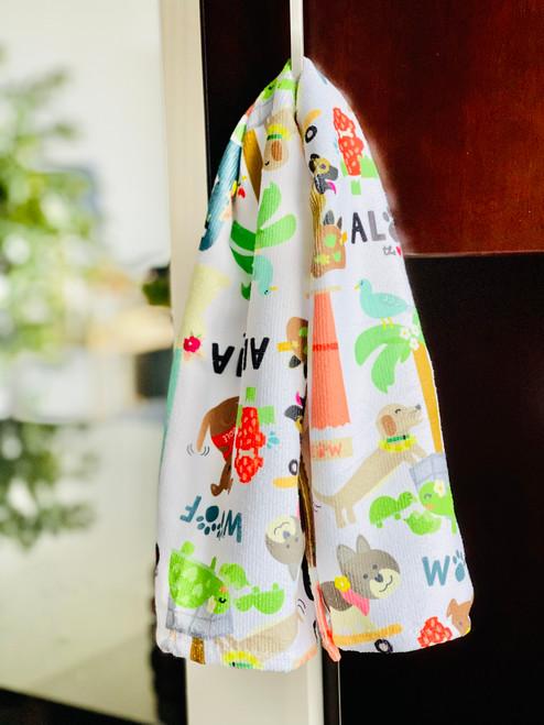 Kitchen Towel: Pets In Da City