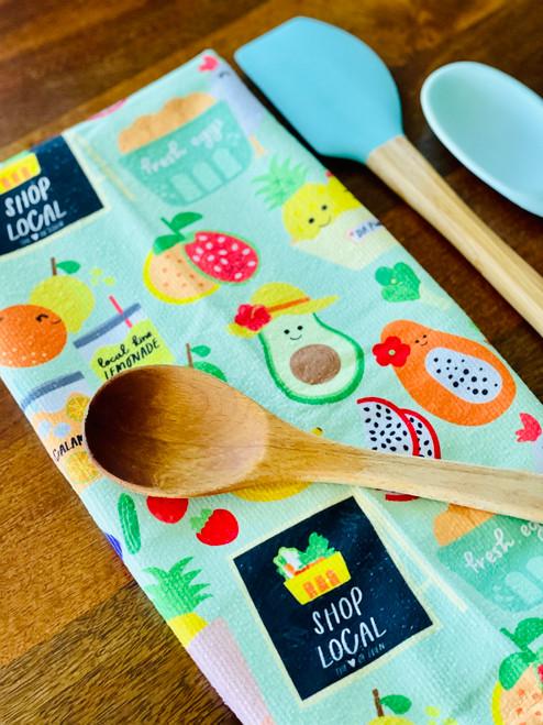 Kitchen Towel: To Da Market