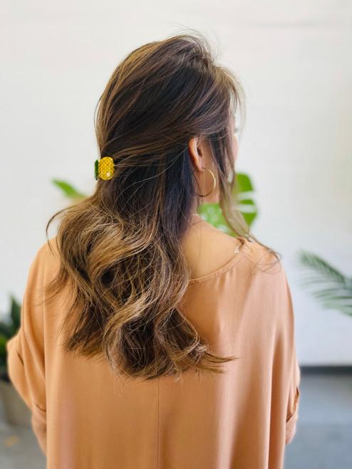 Mini Pineapple Hair Clip