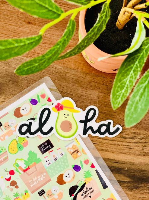 Sticker: Avo-Aloha