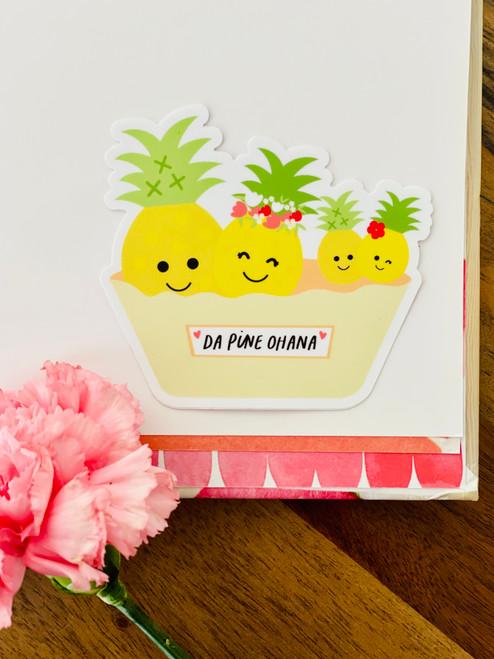 Sticker: Da Pine Ohana
