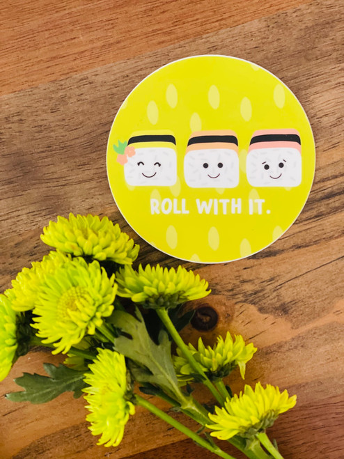 Sticker: Roll With It Trio