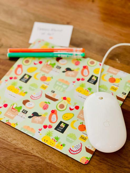 Plastic Mousepad: To Da Market