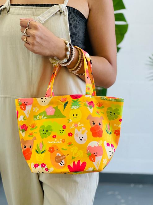 Dumpling Bag: Aloha Bloomies