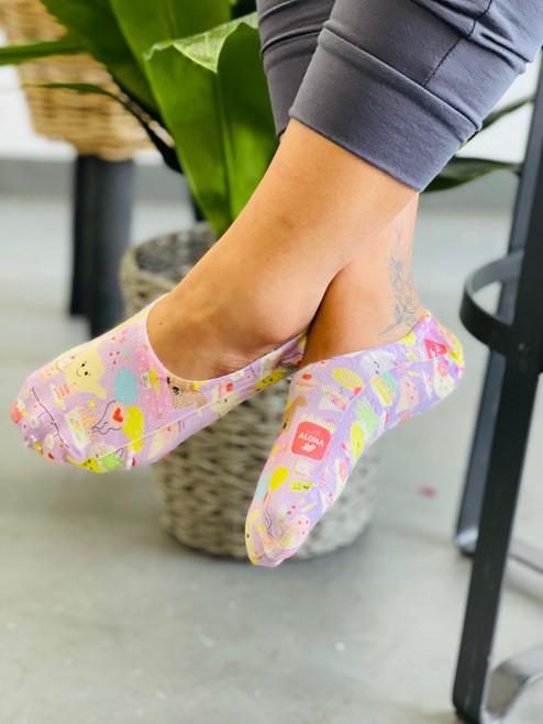 Liner Socks: Aloha Party Posse