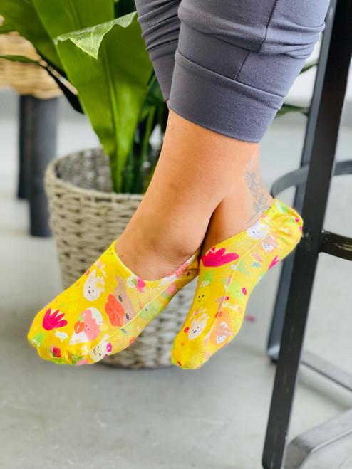 Liner Socks: Aloha Bloomies