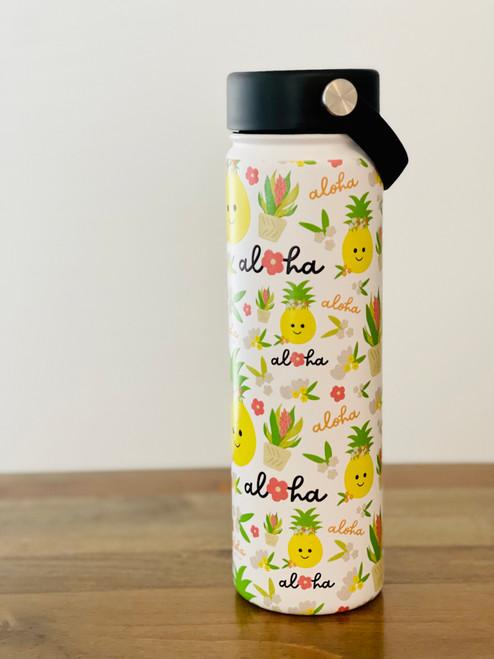 21 oz Water Bottle: Bloom Queen