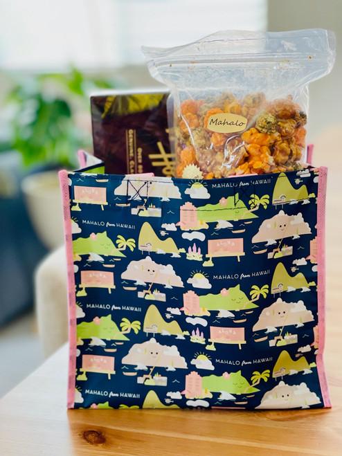 Mini Crinkle Bag: Mahalo From Hawaii