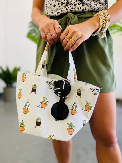 Dumpling Bag: Aloha Green Thumb