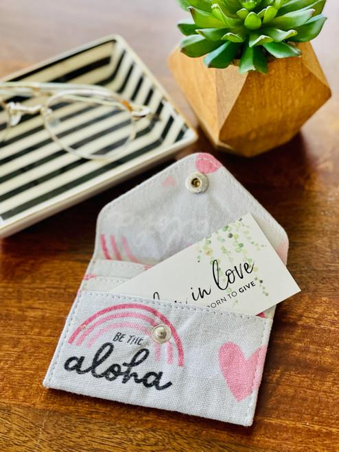 Closed Card Holder: Be The Aloha