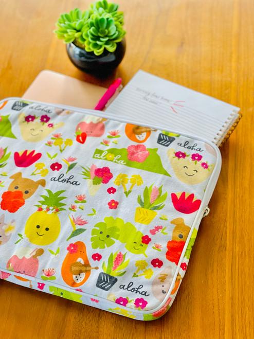 Laptop Sleeve: Aloha Bloomies