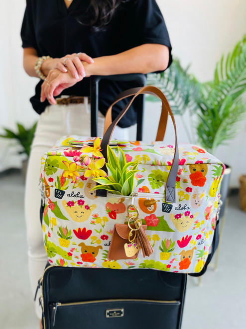 Travel Bag: Aloha Bloomies