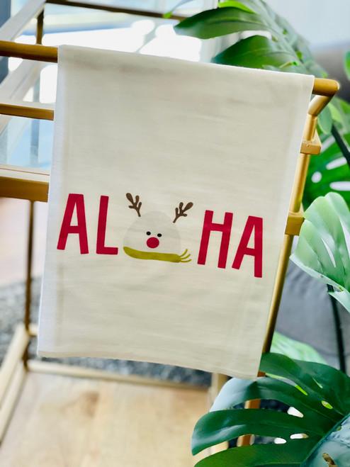 Dish Towel: Musubi Reindeer