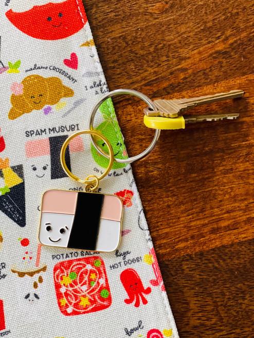 Enamel Keychain: Jam Like Spam