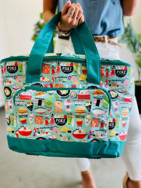 Large Cooler Bag: Foodie Foodie