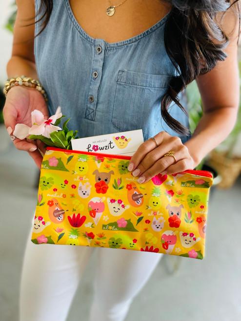 Zip Bag: Aloha Bloomies