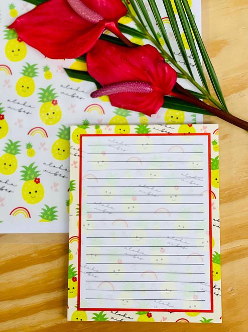 Notepad (50 Sheets): Aloha Vibes
